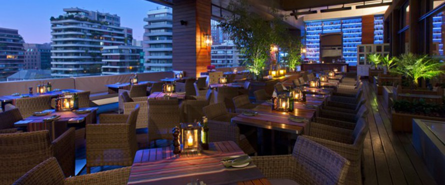 5 terrazas para disfrutar del atardecer en la capital for Terrazas novedosas
