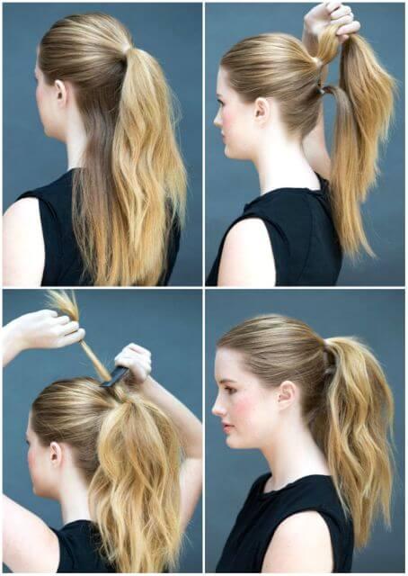 Apurada 6 peinados f ciles y sencillos para hacer t misma hola mujer - Peinados para hacerse una misma ...