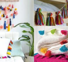 Aprende a hacer borlas decorativas para tu ropa y hogar