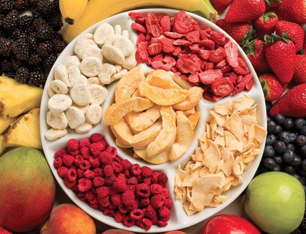 AMARÁS comer frutas y verduras deshidratadas después de leer esto