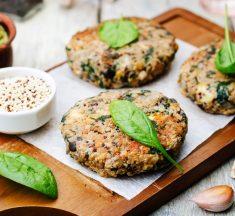 Receta de hamburguesa vegana de arroz integral ¡Una delicia saludable!