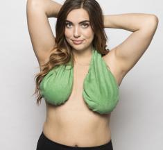 Ta-ta towel: El curioso sostén pensado para mujeres de senos grandes
