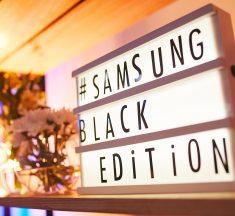 Samsung presenta línea de productos Black Edition: Lo último en diseño para el hogar