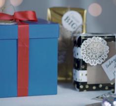 ¡4 tips para envolver tus regalos de forma fácil y original!