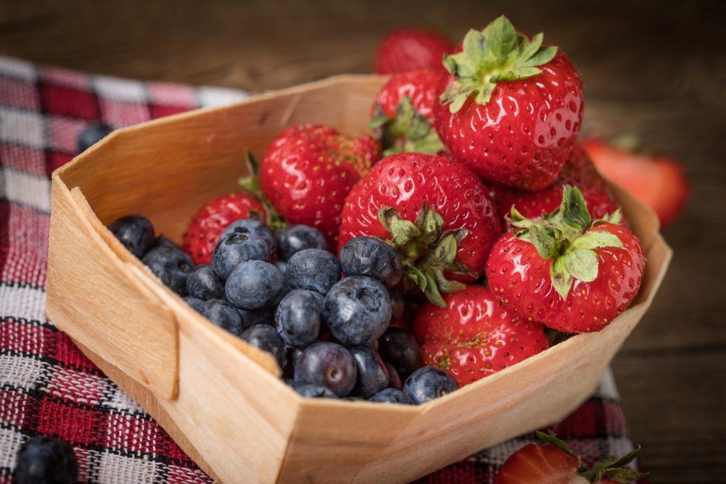 culpa 5 arándanos y frutillas