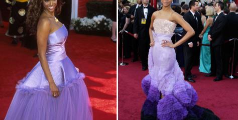 ¿Los viste? 8 Vestidos icónicos de los Oscars