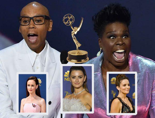 Los Emmy en la alfombra roja: Las mejores y peores vestidas