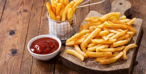 ¿Antojo de papas fritas? Ésta es la porción saludable