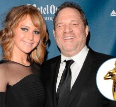 "Harvey Weinstein: ""Me acosté con Jennifer Lawrence y mira dónde está"""