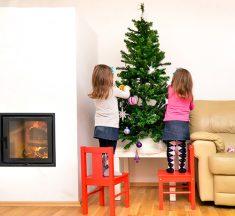 ¿Quieres una navidad diferente? Hagan un árbol navideño en familia