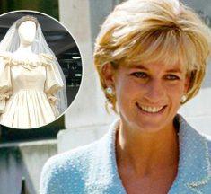 Fortuna inesperada: Chica compró vestido de la Princesa Diana en tienda de ropa usada