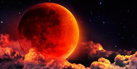 ¡Este domingo no te pierdas la Superluna de Sangre de Lobo!